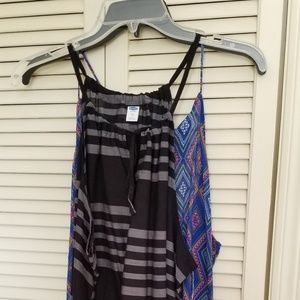 Lot of 3 NWT womens Old Navy tanks